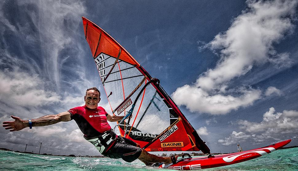 Simon Bornhorft Windwise Windsurfing School Hayling Island, Hampshire