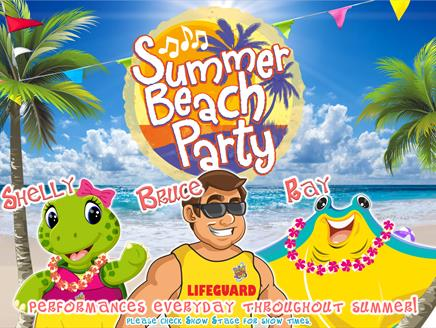 Paultons Park Summer Beach Party