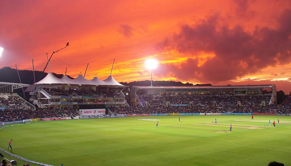 ICC Cricket World Cup at the Hampshire Bowl