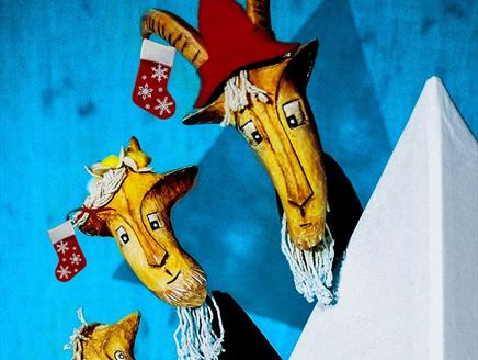 Christmas with The Three Billy Goats Gruff at Ashcroft Arts Centre