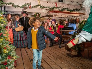 The Victorian Christmas Festival at Portsmouth Historic Dockyard