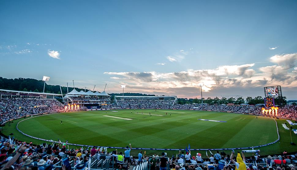 Hampshire v Middlesex Vitality Blast at The Ageas Bowl