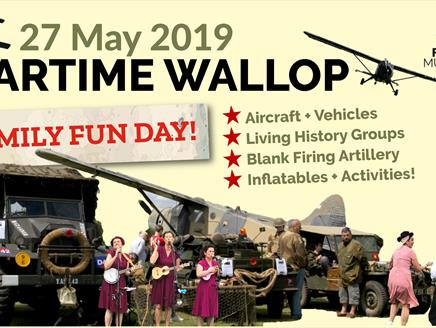 Wartime Wallop 2019 at Army Flying Museum