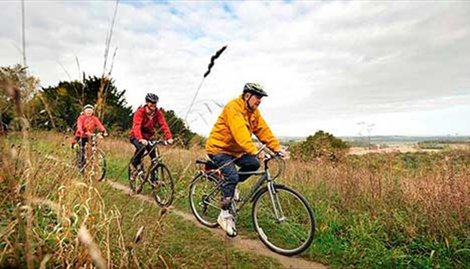 Hampshire West Off Road Cycle Trails