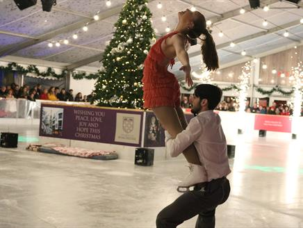 Winchester Cathedral's Christmas Market and Ice Rink Opening Ceremony 2019