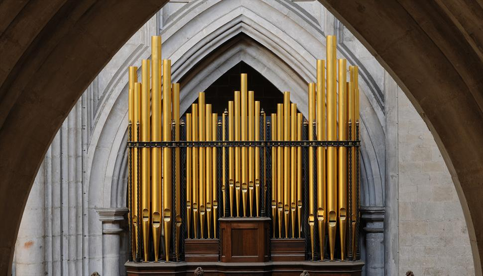 Bank Holiday Organ Recital: Steve Grahl at Winchester Cathedral