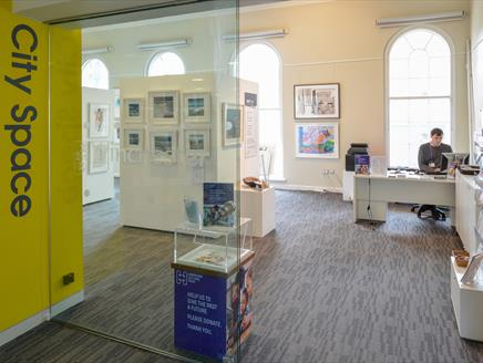 City Space at Winchester Discovery Centre