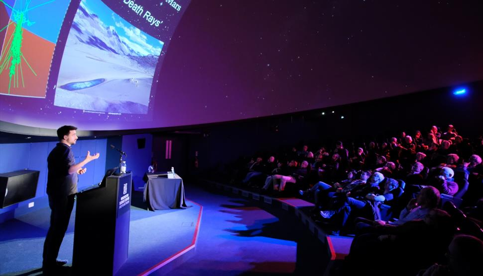 Space Lecture: How to Heat up Dark Matter at Winchester Science Centre
